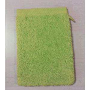 Gant de toilette 16x21cm - Vert pistache