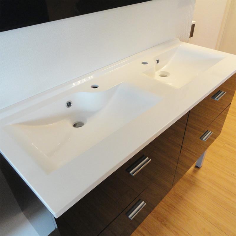 Best doubles vasques design ideas for Double vasque 110 cm
