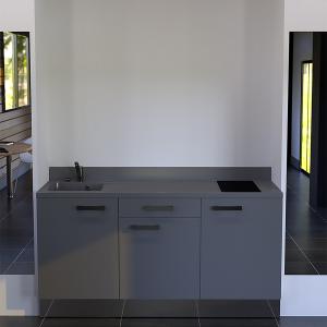 Kitchenette K34 - 180 cm avec meuble tiroir