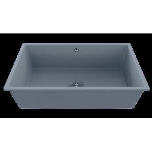 Cuve EVISTONE à encastrer ou à fixer par dessous 74x44 cm - Cromo