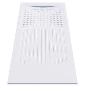 Receveur de douche blanc découpable 3.5cm OASIS - 180x80cm
