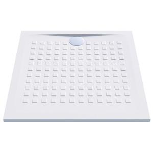 Receveur de douche blanc ultraplat 2.5cm  RESISOL - 90x90cm
