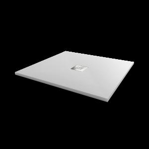 Receveur de douche blanc extraplat 2.2cm SLIM - 80x80cm