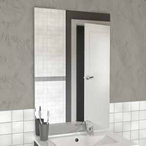 Miroir MIRCOLINE sans applique lumineuse -  60x105cm