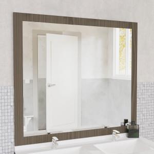 Miroir MIRALT décor vienna sans applique - 120x109 cm