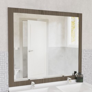 Miroir MIRALT décor vienna sans applique - 140x109 cm