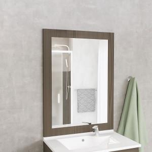 Miroir MIRALT décor vienna sans applique - 90x109 cm