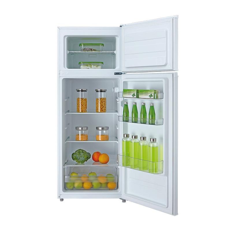 Réfrigérateur GLEM avec congélateur - 166/46L A+ Blanc