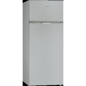 Réfrigérateur GLEM avec congélateur - 166/46L A+ Silver