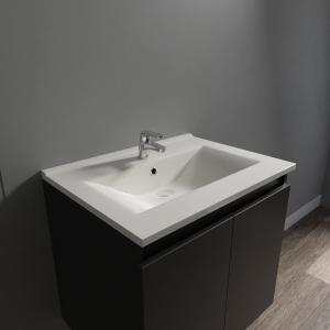 Plan vasque en céramique CÉRAPLAN - 60 cm