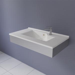 Support autoportant FRAMALU avec vasque, 45cm de profondeur - 4 largeurs