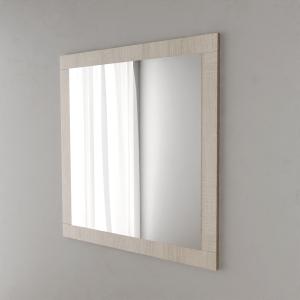 Miroir MIRALT décor cambrian oak sans applique - 90x109 cm