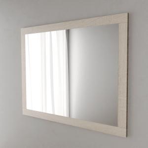 Miroir MIRALT décor cambrian oak sans applique - 140x109 cm