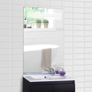 Miroir ELEGANCE 70x105 cm - éclairage intégré à LED et SANS unterrupteur sensitif