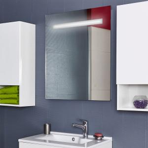 Miroir ELEGANCE 70x80 cm - éclairage intégré à LED et SANS interrupteur sensitif