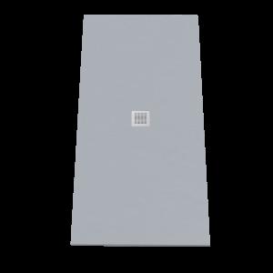 Receveur de douche 190x90 cm extra plat - gris ciment - DIAMANT