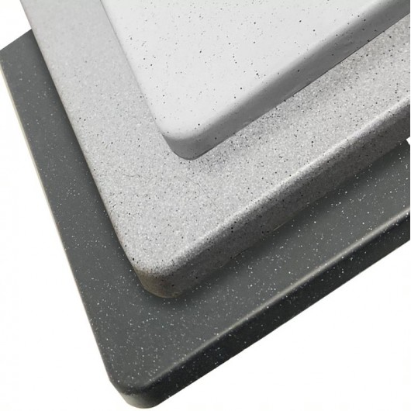 Cuve RESIROC - évier 1 bac sans égouttoir - 44 x 44 cm - Blanc