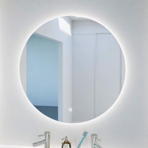 Miroir FAZZIO Ø 80cm - éclairage LED, système anti-buée et interrupteur sensitif
