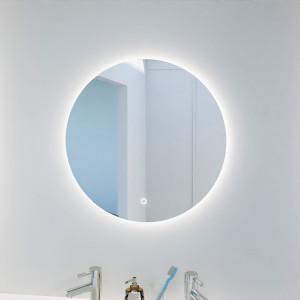 Miroir FAZZIO Ø 60cm - éclairage LED, système anti-buée et interrupteur sensitif
